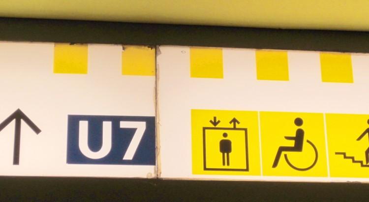U-Bahn BVG Video u Aufzug