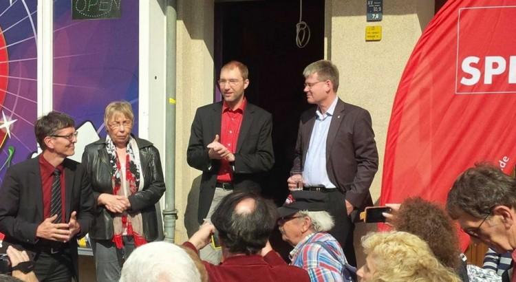Eröffnung des Bürgerbüros von Daniel Buchholz SPD