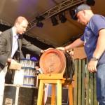 Deutsch-Amerik Volksfest DAV Fassanstich Foto v Udo Lauer no1