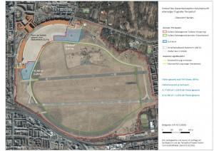 Tempelhofer Feld Flaechen A und B