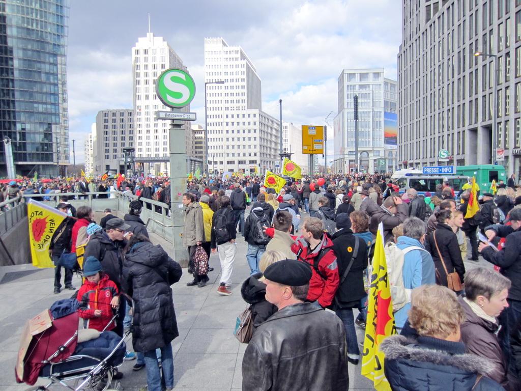Anti-Atom Demo Berlin 2011
