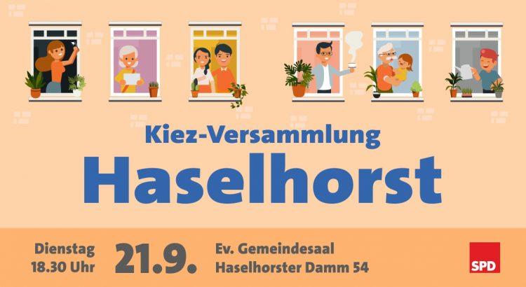 Kiez-Versammlung Haselhorst mit Daniel Buchholz, MdA und Swen Schulz, MdB 1