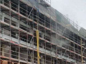 """Baustaub beim Buwog-Bauvorhaben """"Speicherballett"""""""